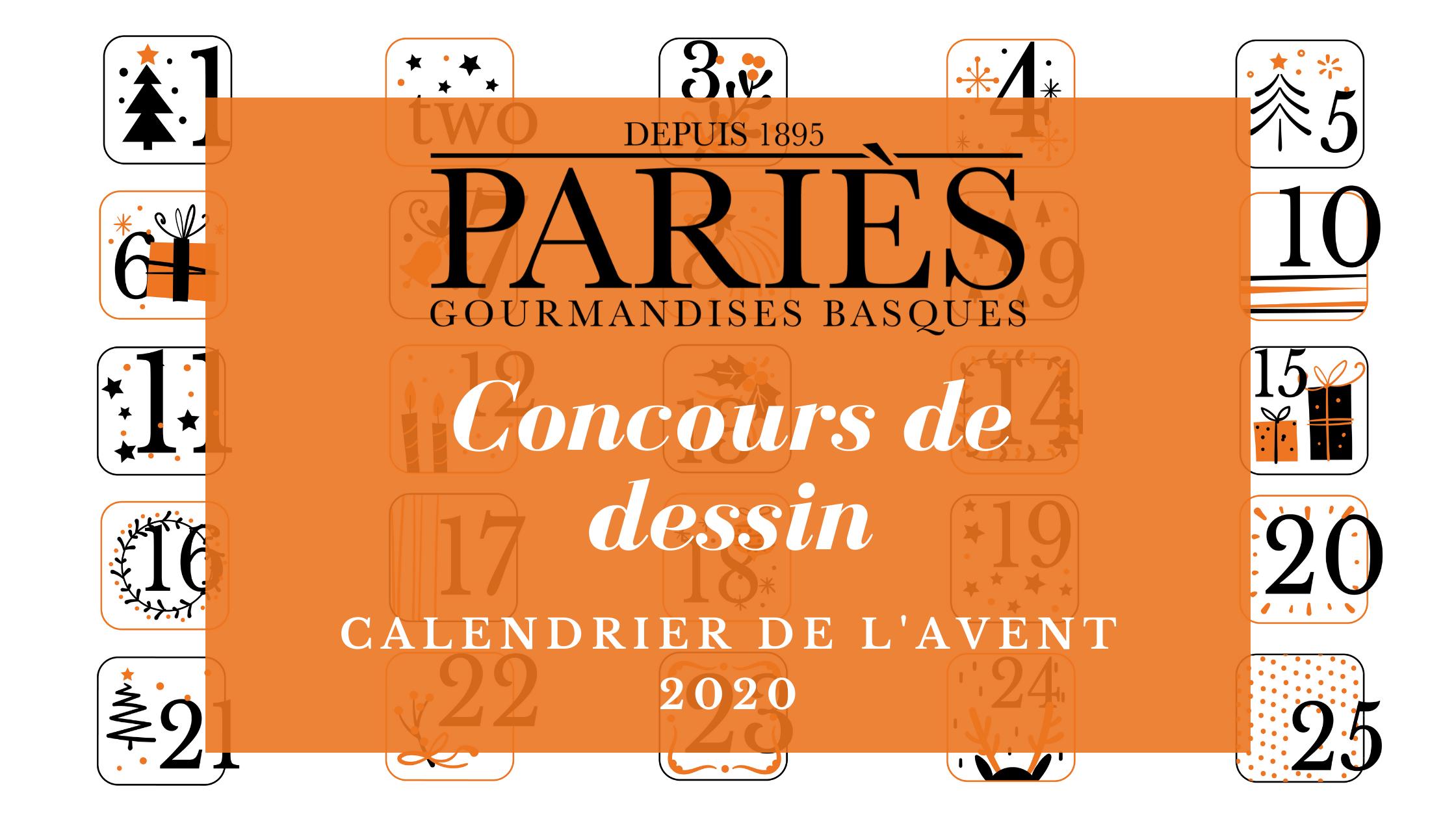 Concours dessin - Calendrier de l'Avent 2020