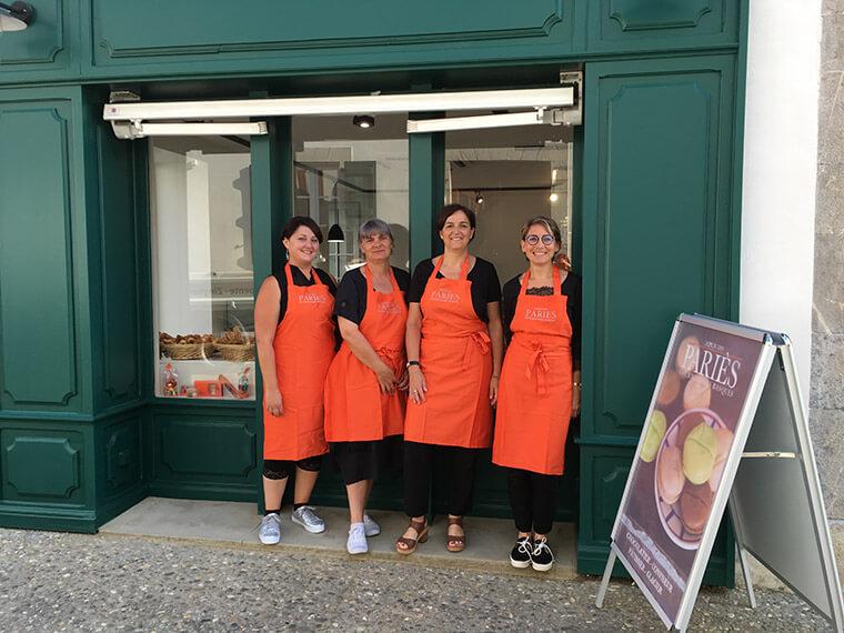 Notre boutique Pariès à Espelette